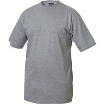 gråmeleret t-shirt