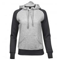 grå hoodie
