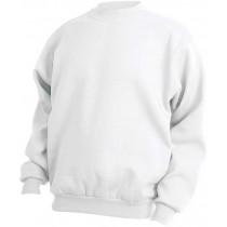 hvid sweatshirt
