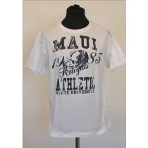 Original Maui universitets T-shirt  i Hvid