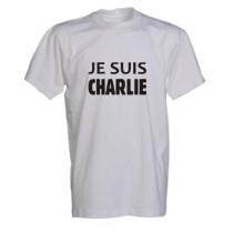 Charlie Hebdo t-shrt Je suis CHARLIE