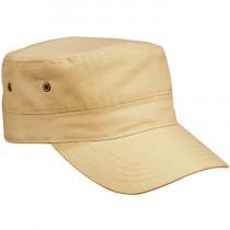 khaki military cap