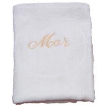Håndklæde med broderi