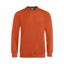 Orange crewneck