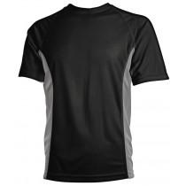 sort åndbar t-shirt