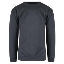 stålgrå sweatshirt