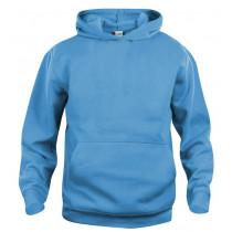 turkis børne sweatshirt