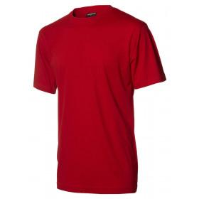 Rød børne t-shirt