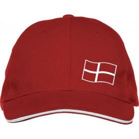 Danmarks Cap med flag