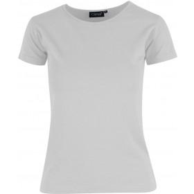 Hvid Charlotte t-shirt - dame