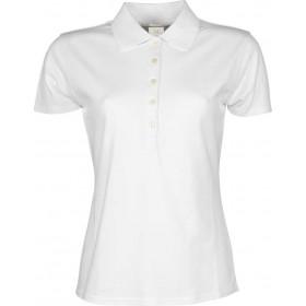 Polo Luxus Stretch til dame - Hvid