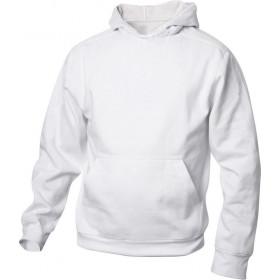 Hvid hoodie til børn
