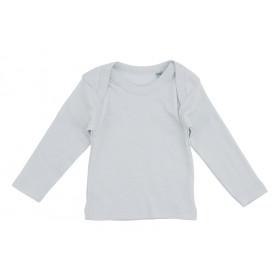 Lyseblå baby t-shirt med lange ærmer