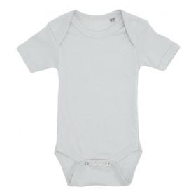 Lyseblå baby bodystocking