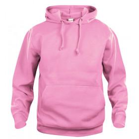 Clique basic hoodie - Lyserød