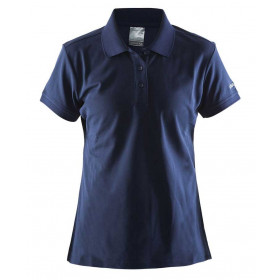 Navy classic Craft dame polo