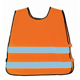 Orange refleksvest til børn