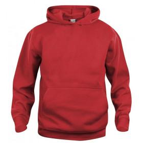 Rød hoodie til børn