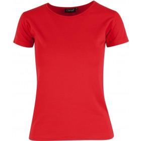 Rød Charlotte t-shirt - dame