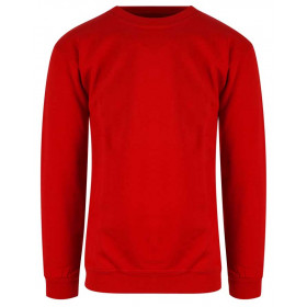 Rød classic sweatshirt - unisex
