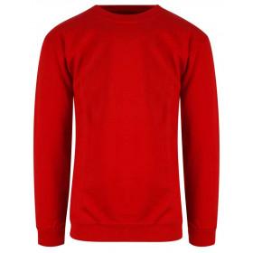 Rød classic BIGSIZE sweatshirt - unisex