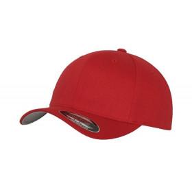 Rød Flexfit kasket