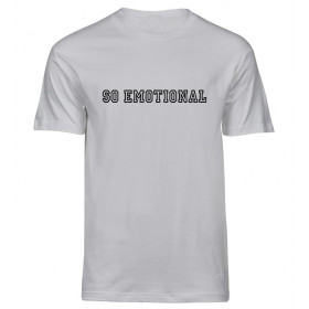 Hvid So Emotional t-shirt