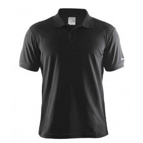 Sort classic Craft herre polo