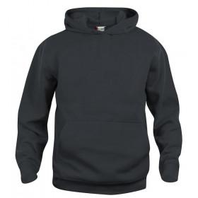 Sort hoodie til børn