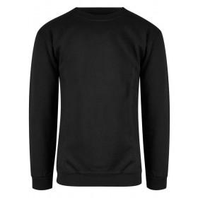 Sort classic BIGSIZE sweatshirt - unisex