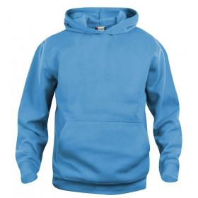 Turkis hoodie til børn