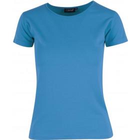 Turkis Charlotte t-shirt - dame