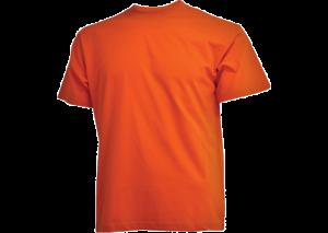 Orange Camus t-shirt