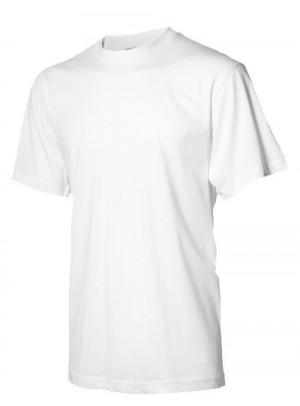 Hvid børne t-shirt