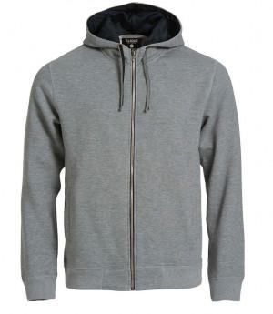 grå hoody unissex