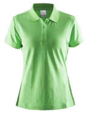 grøn dame polo