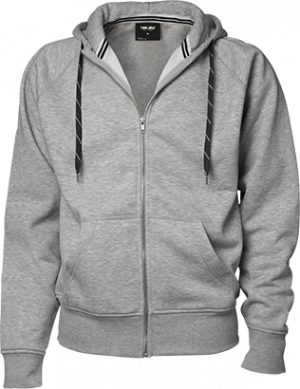 Hættetrøje Grå- hoodie