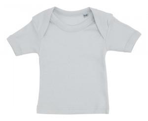 Lyseblå baby t-shirt