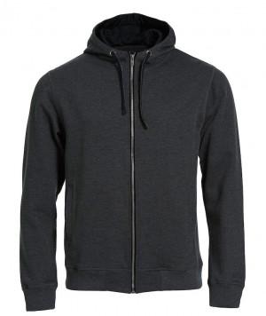 mørk grå hoody