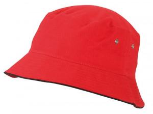 Rød bøllehat til børn
