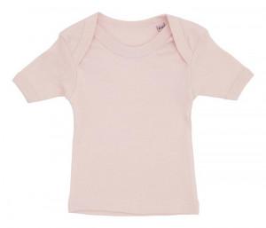 Rosa t-shirt til baby