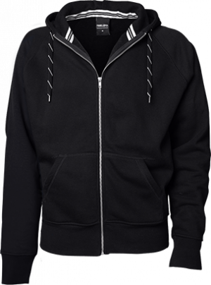 hættetrøje sort - hoodie