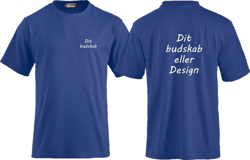 T-shirt med tryk til firma eller klubber